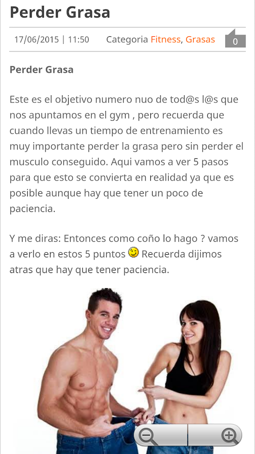 Fitness - Tu Revista- screenshot