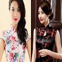 Cheongsam Dress Hairstyles. icon