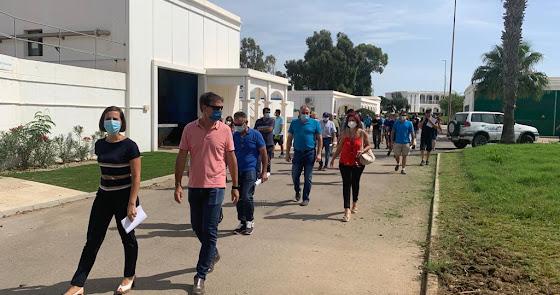 Almería abre las puertas de la EDAR a regantes y agricultores
