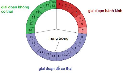 Kinh nguyet khong deu co gay kho thu thai hinh 1