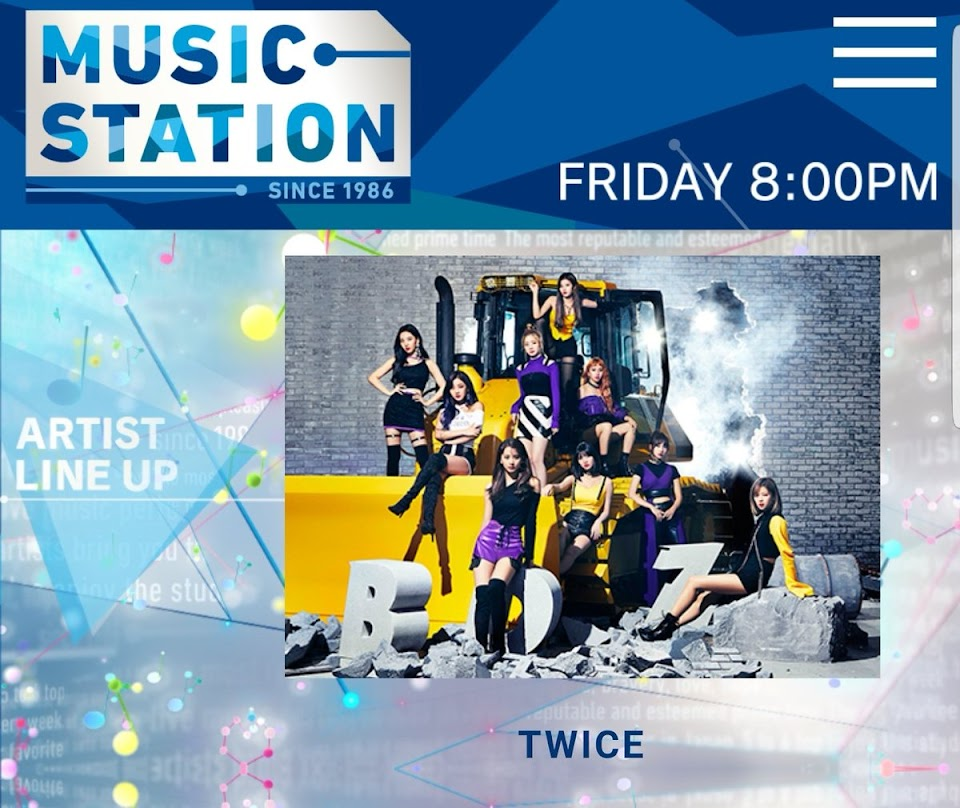 twice music station
