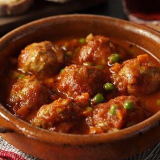Albondigas En Salsa (meatballs In Sauce)