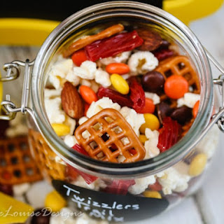 Easy Twizzlers Twists Trail Mix.