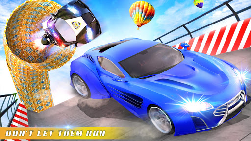 Police Car Chase GT Racing Stunt: Ramp Car Games android2mod screenshots 10