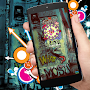 Skull Graffiti Locker Theme APK icon