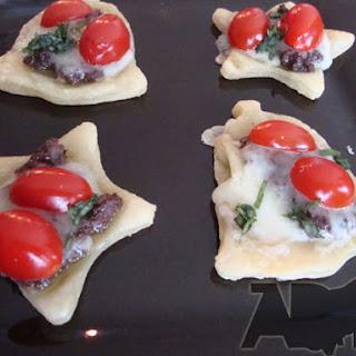 Tomato Basil Tartlets