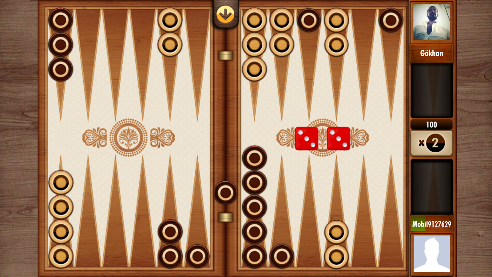 tavla backgammon