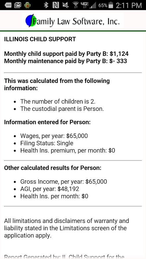 IL Child Support Calculator Android Apps on Google Play – Child Support Worksheet Ohio
