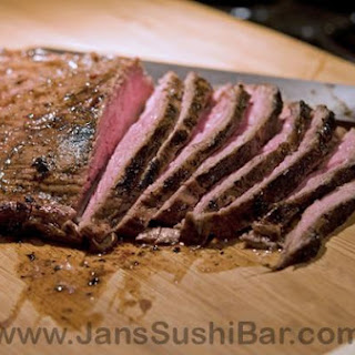 Flank Steak For Fajitas.