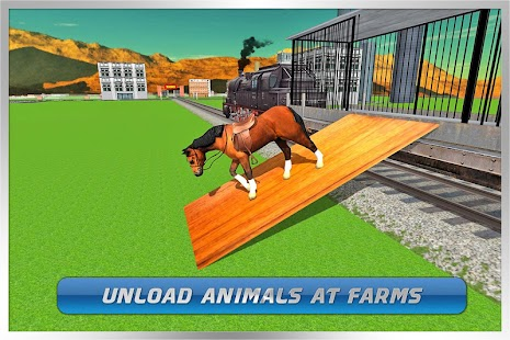 Transport Train: Farm Animals screenshot