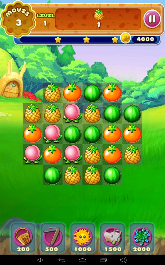 Fruit Smash Game
