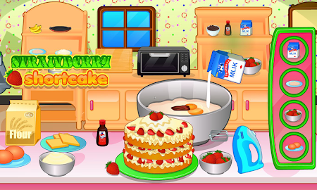 Cooking strawberry short cake 2.0.8 screenshot 714299