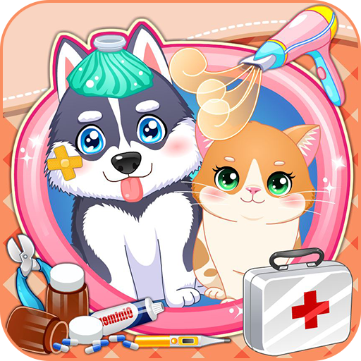 Puppy & kitty pet doctor (game)