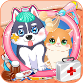 Puppy & Kitty Pet Doctor Android APK Download Free By LPRA STUDIO