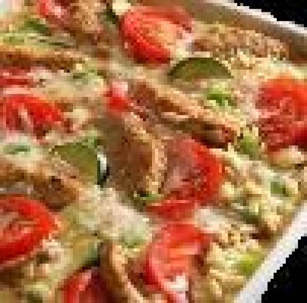 California Zucchini Bake- Low Fat Recipe