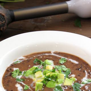 Easiest Black Bean Soup