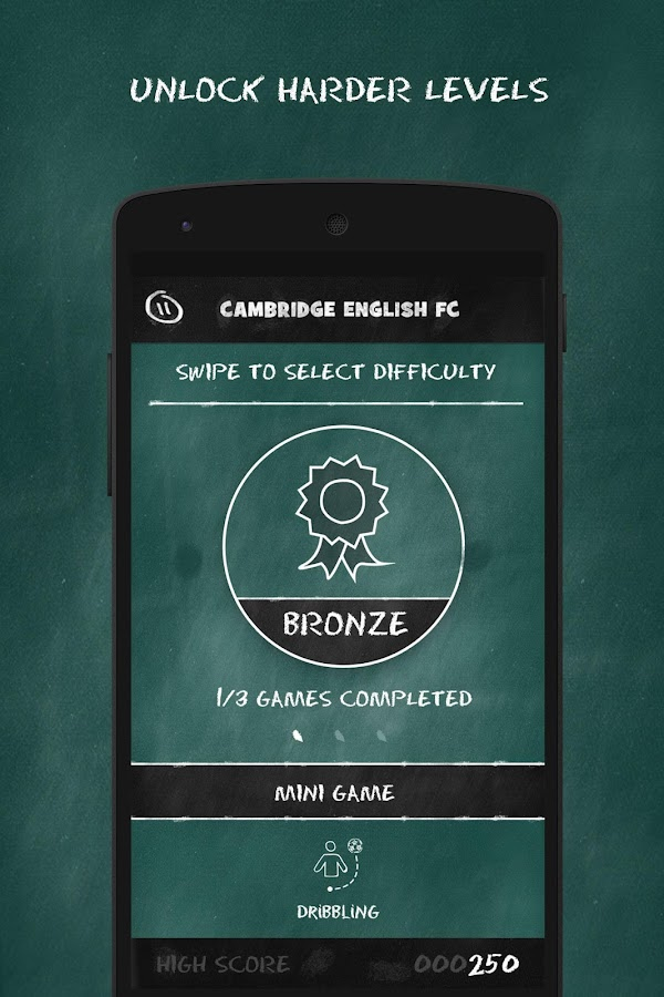 Cambridge English FC- screenshot
