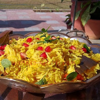 Vegetable Pulao(Pilaf).