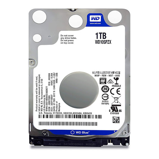 Ổ cứng laptop WD Blue 1TB 2.5