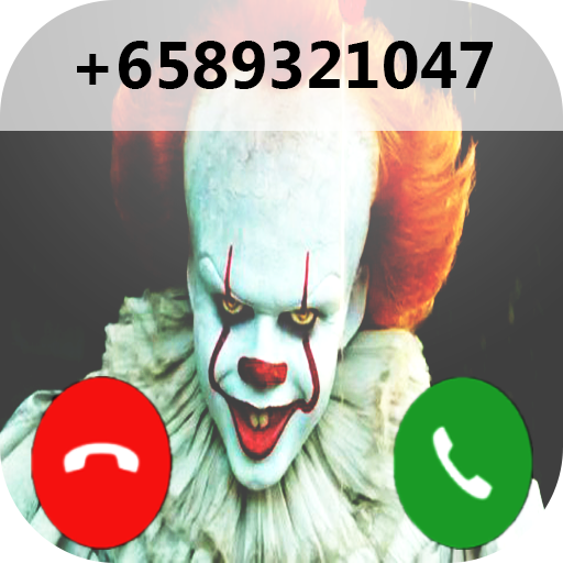 fake call from pennywise prank