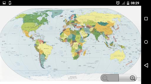 World Map Offline