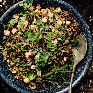 Wild Rice with Watercress and Hazelnuts Recipe