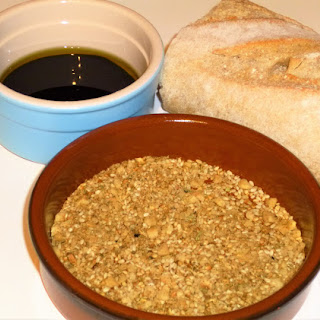 Easy Peasy Dukkah Dip for Bread