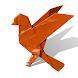 Origami birds. Schemes, instructions