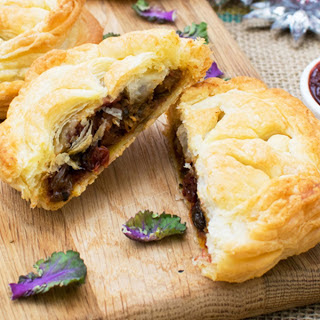French Hand Pie With Cranberry Mango Chutney [Vegan]
