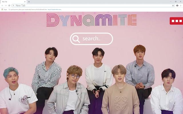BTS dynamite HD Wallpapers Theme