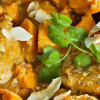 Thai Chicken & Sweet Potato Curry W/ Coconut Milk Recipe