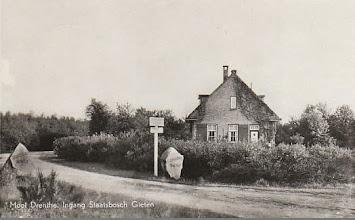 Photo: Ingang Staatsbos (1933)