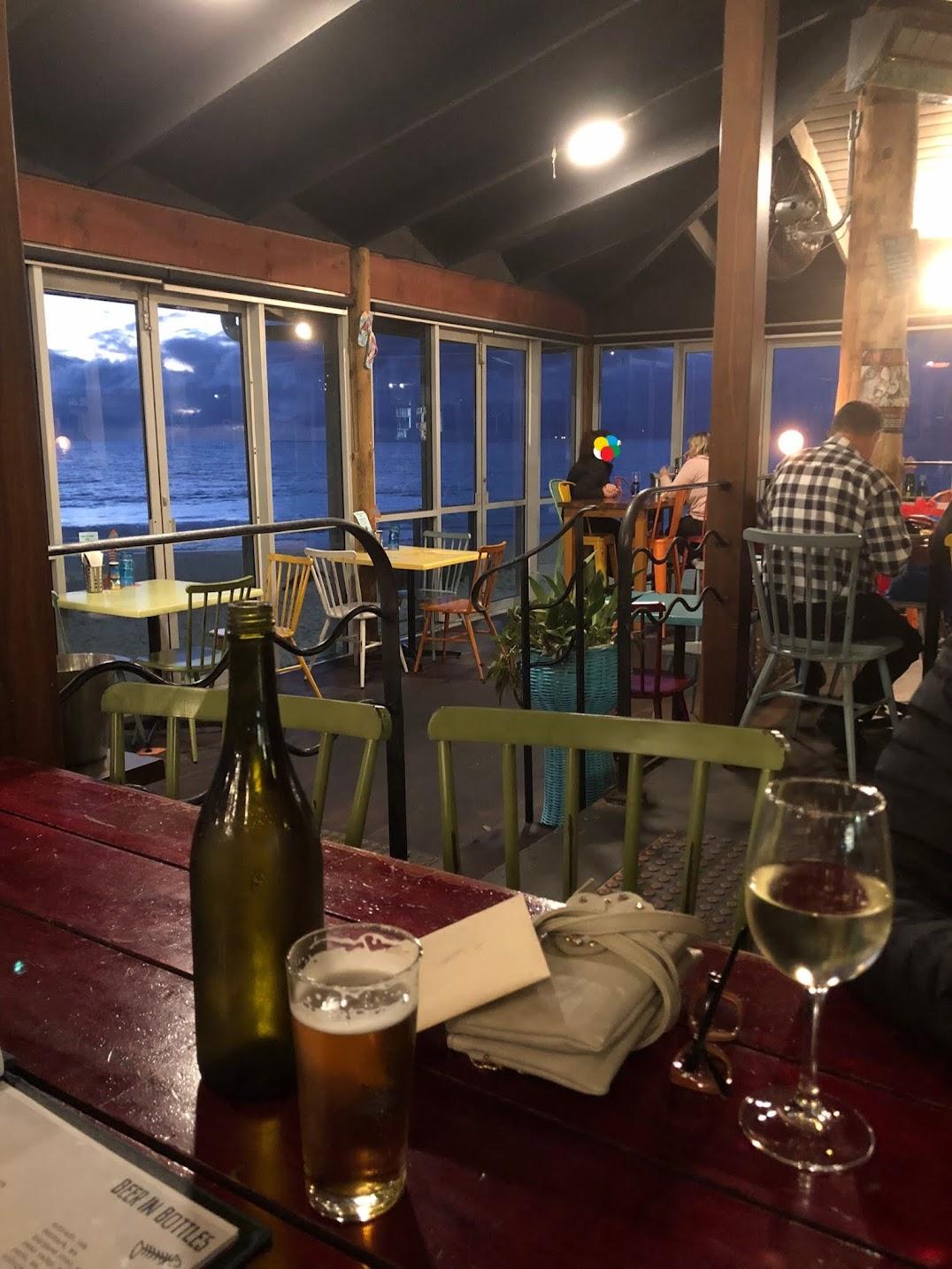 パース海辺のレストラン