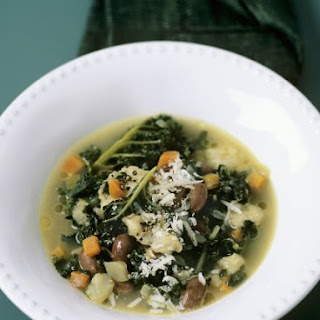 Mediterranean Bean and Veggie Broth
