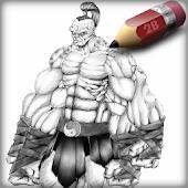 Sketch MKX Goro