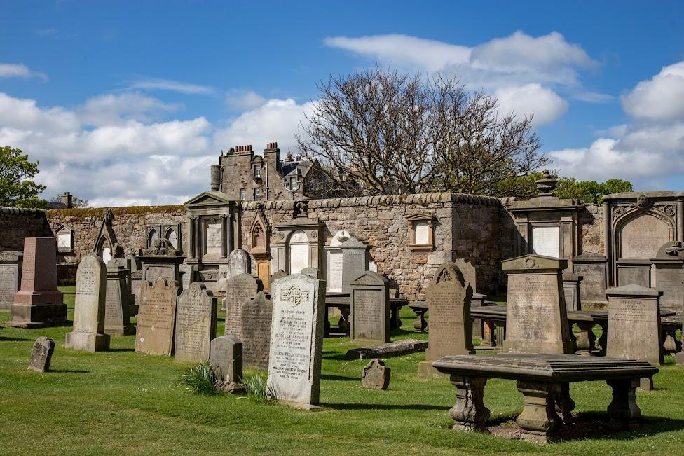 Szkocja, cmentarz przy katedrze