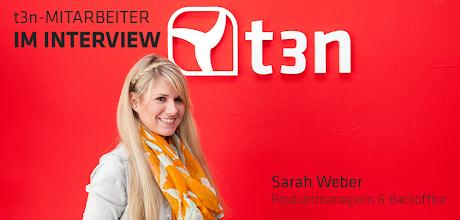 Photo: t3n Mitarbeiter im Interview - Sarah Weber (Produktmanagerin & Backoffice)  Alex (A): Wer bist und was machst du beim +t3n Magazin?  Sarah (S): Mein Name ist +Sarah Weber(24) und ich bin seit Juli 2012 Produktmanagerin bei t3n. Primär bin ich für die t3n Jobbörse zuständig, darüber hinaus unterstütze ich das Backoffice, Medienkooperationen und Online-Marketing-Kampagnen.  A: Was hast du davor gemacht bzw. womit beschäftigst du dich fernab vom t3n-Kosmos?  S: Vorher habe ich Informationsmanagement in Hannover studiert. Im und nach meinem Studium habe ich einige Praktika absolviert. Ich war unter anderem für einen großen Privatsender tätig und konnte dort interessante Online-Projekte unterstützen, zum Beispiel Live-Video-Chats parallel zur Sendung.  A: Welche Blogs, Websites und Apps nutzt am häufigsten? Nenn mir bitte jeweils zwei.  S: Blogs - aicuisine.com, Marketing-blog.biz Website - Viele! Von Shopping-Portalen bis hin zu den üblichen Social-Media-Kanälen. Apps - Facebook, WhatsApp  A: Was macht das Arbeiten bei t3n für dich so besonders?  S: Besonders viel Eigenverantwortung ist gefragt, Ideen bzw. Vorschläge lassen sich schnell umsetzen, flache Hierachien und natürlich das Team.  A: Wo und wie erreicht man dich im Netz?  S: Über Google+ (https://plus.google.com/109825146433375061734/about) & Xing (https://www.xing.com/profile/Sarah_Weber38)