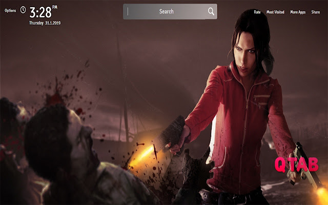 Left 4 Dead Wallpapers New Tab
