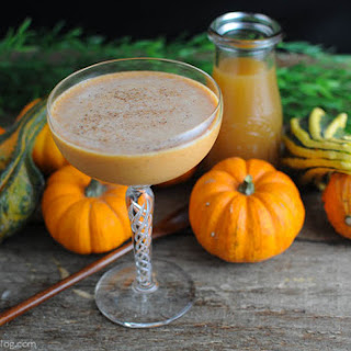 Pumpkin Harvest Cocktail.