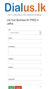 Sri Lanka City Search Engine - náhled