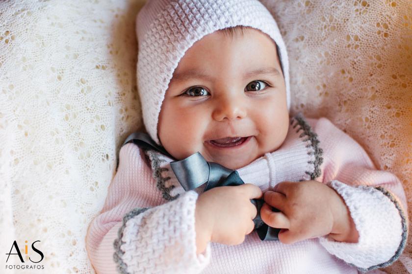 Fotografía infantil, el primer año de Paula