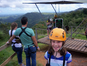 Photo: Almost time to zipline!