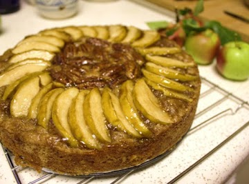Apple -pecan Olive Oil Cake Recipe