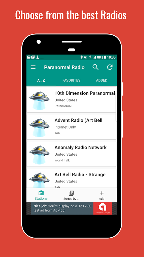 Radio Paranormal Talk PRO+- screenshot