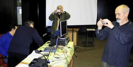 Photo: Snimatelji predavanja YU1RA - YZ1DO