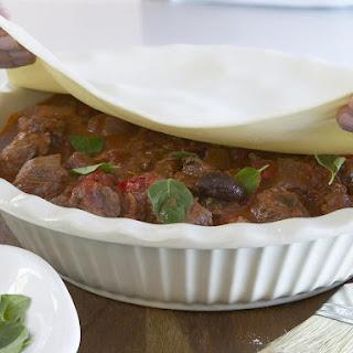 Italian Lamb Pot Pie.