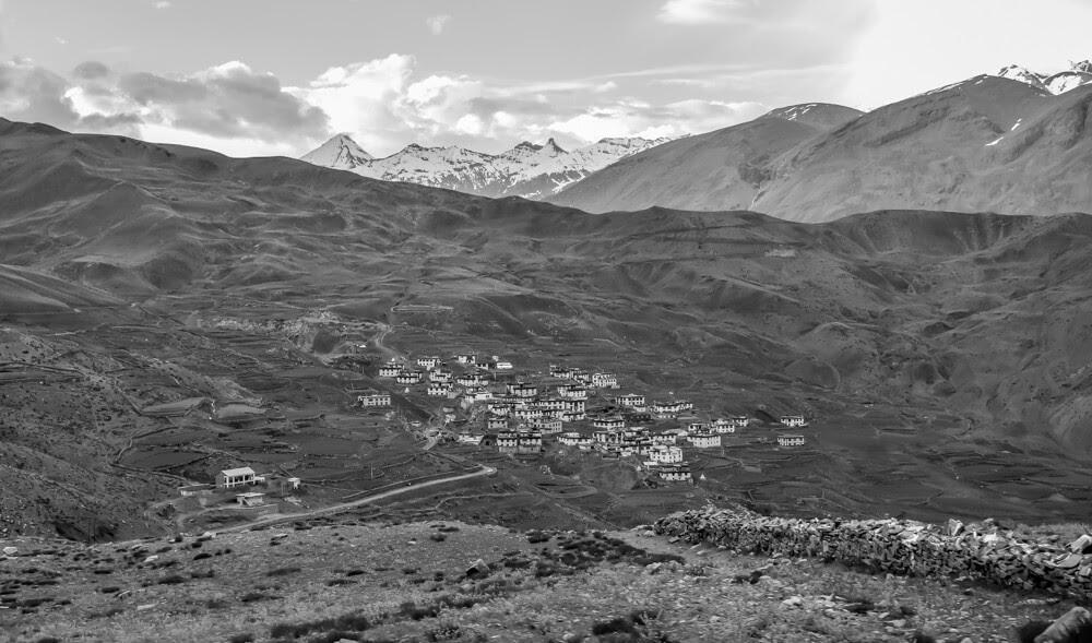 demul+village+Spiti+valley+himachal