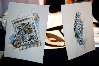 Photo: The Grande Reverso Tourbillon Squelette and the Reverso Cordonnet Neva timpieces through the eyes of Katie Rodgers, Paper Fashion.  More on: http://bit.ly/1jKrIMb and http://bit.ly/1jhODiO