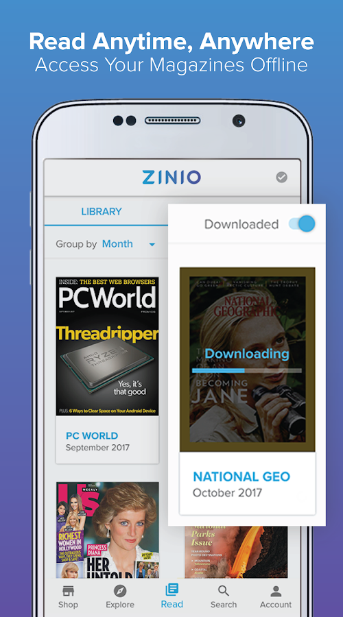 Zinio - Magazine Newsstand- screenshot