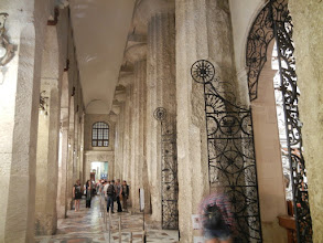 Photo: Columns from the original Greek Temple on the site of Siracusa Duomo